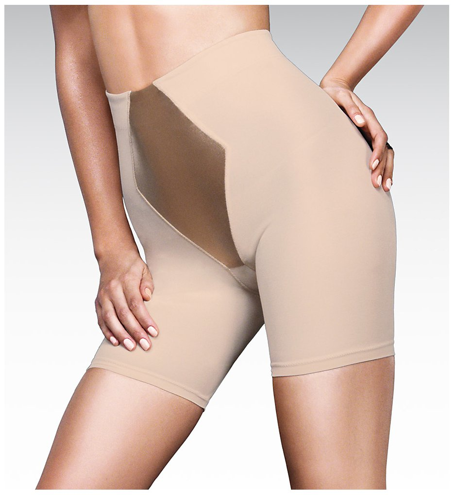 Maidenform - Maidenform 2355 Easy Up Easy Down Thigh Slimmer (Latte Lift M)