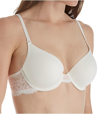 Maidenform Love the Lift Natural Boost Lace Wing T-Shirt Bra