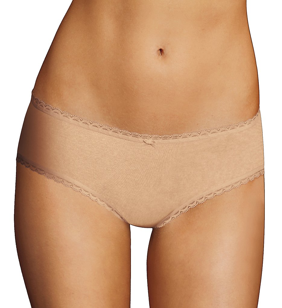 Maidenform - Maidenform CS51 One Fab Fit Cotton Stretch Hipster Panty (Latte Lift 9)