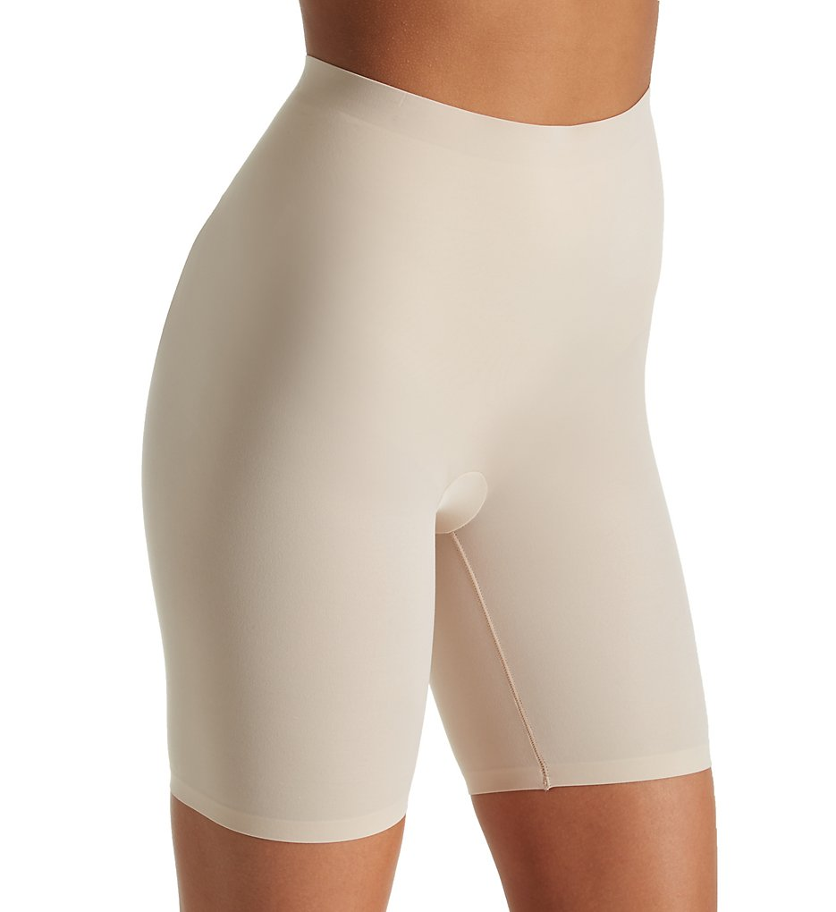 Maidenform - Maidenform DM0035 Cover Your Bases Thigh Slimmer with Cool Comfort (Nude 1/Transparent S)