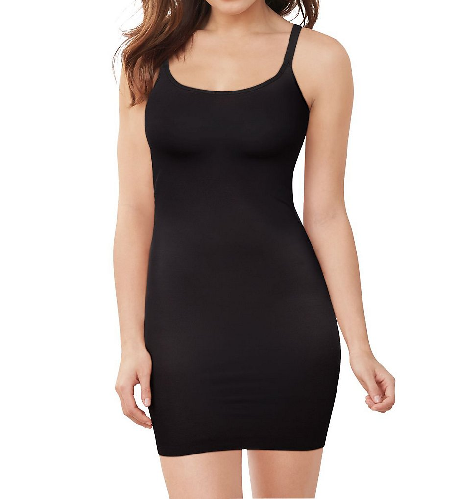 Maidenform - Maidenform DM0039 Cover Your Bases WYOB Slip with Cool Comfort (Black S)