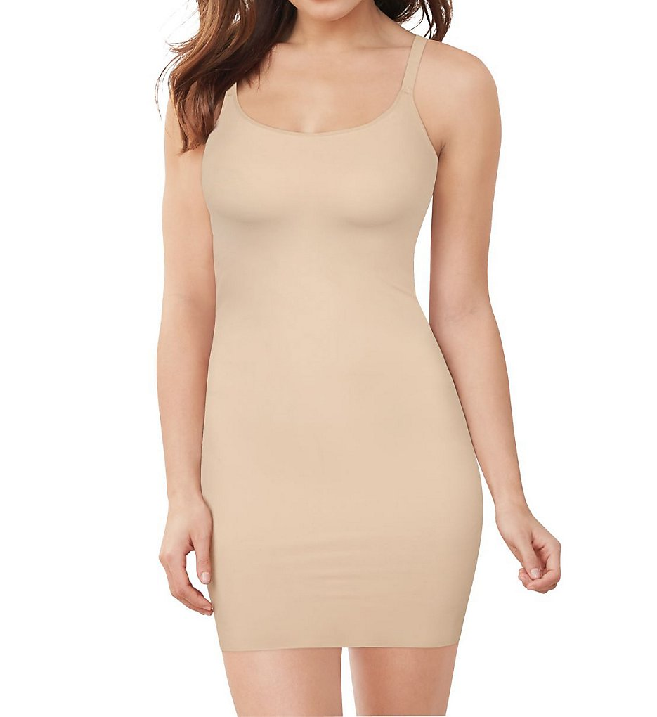 Maidenform - Maidenform DM0039 Cover Your Bases WYOB Slip with Cool Comfort (Nude 1/Transparent S)