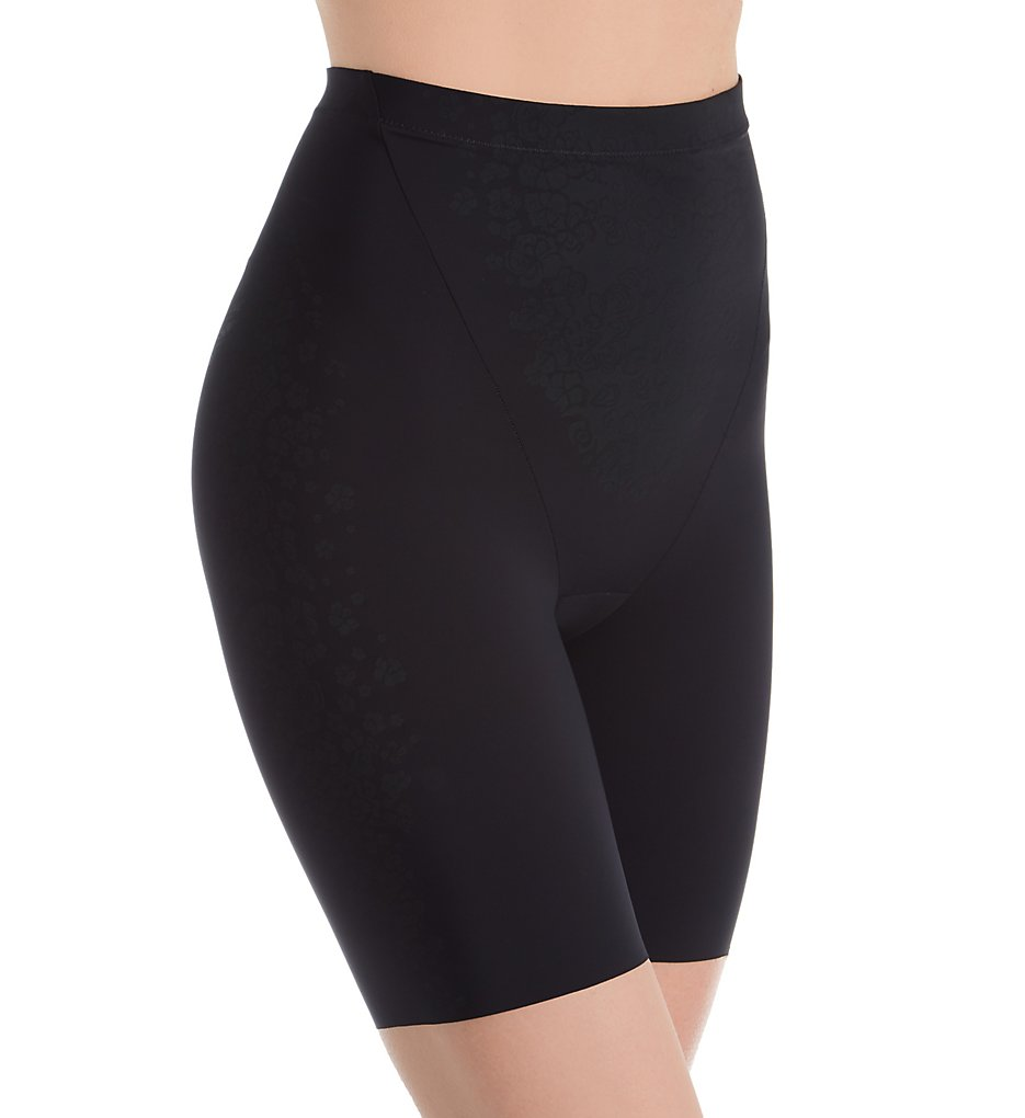Maidenform - Maidenform DM0071 FitSense Thigh Slimmer with Lycra (Black S)