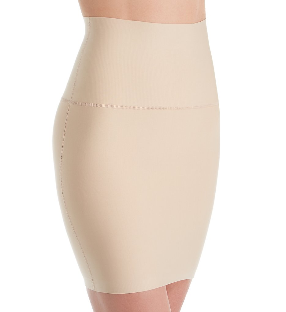 Maidenform - Maidenform DM0702 Tame Your Tummy Half Slip with Built-in Panty (Nude 1/Transparent 2X)