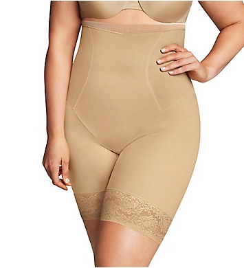 1b0de2a496d Maidenform Firm Foundations Curvy Hi-Waist Thigh Slimmer DM1024 ...