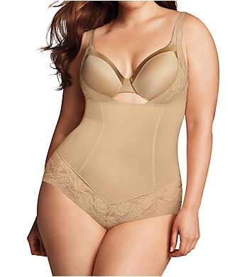 172c203cb1269 Maidenform Firm Foundations Curvy Body Shaper w  Cool Comfort DM1025 ...
