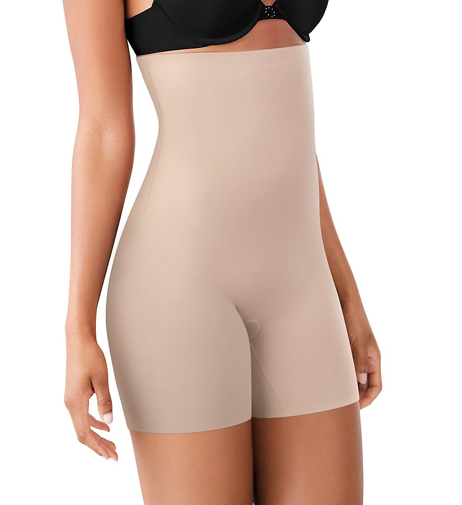 Maidenform - Maidenform DM2561 Sleek Smoothers High Waist Shorty (Paris Nude S)