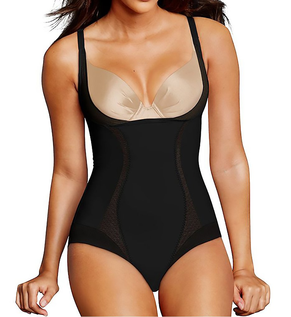 Maidenform - Maidenform DM5004 Firm Foundations Torsette Bodybriefer (Black S)