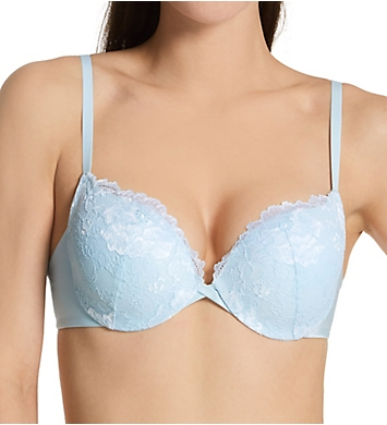 Maidenform Center of Attention Cross Dye Lace Demi Bra