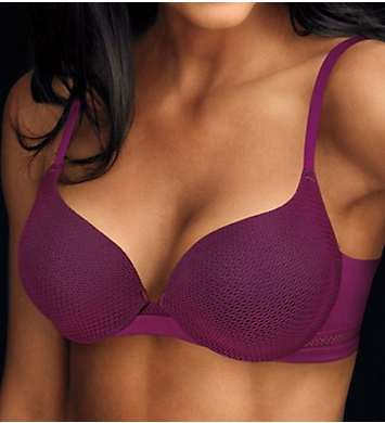 Maidenform Center of Attention Fishnet Cup Demi Bra