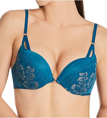 Maidenform Love the Lift Strappy Lace Push Up Bra