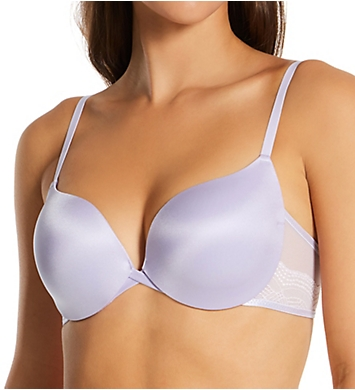Maidenform Center of Attention Satin and Lace Demi Bra