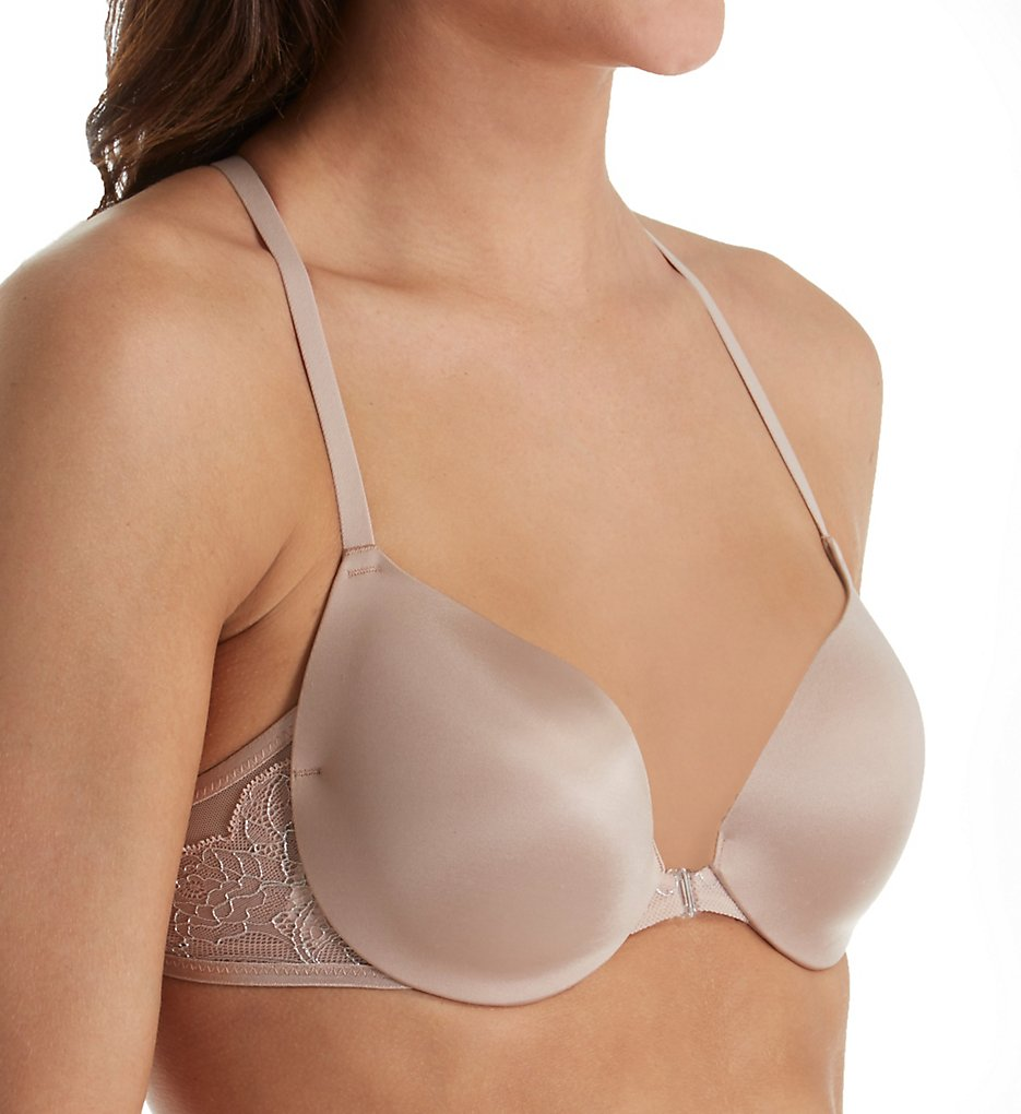 Maidenform - Maidenform DM9901 Love the Lift Push Up and In Lurex T-Back Bra (Evening Blush 38B)