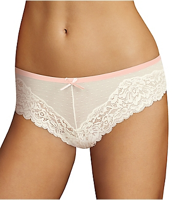 Maidenform Comfort Devotion Mesh and Lace Tanga Panty