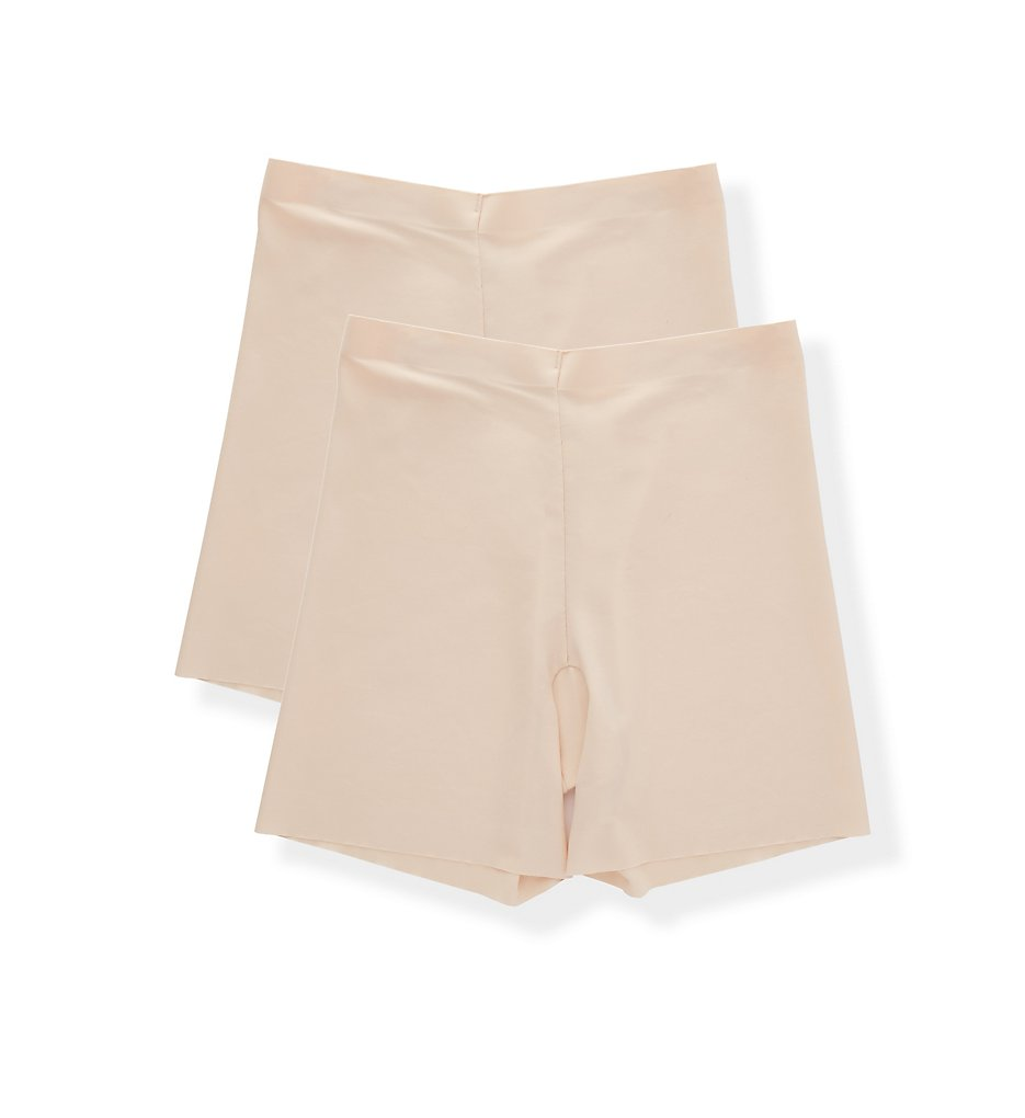 Maidenform - Maidenform DMS081 Cover Your Bases Shaping Girlshort - 2 Pack (Nude 1/Transparent XL)