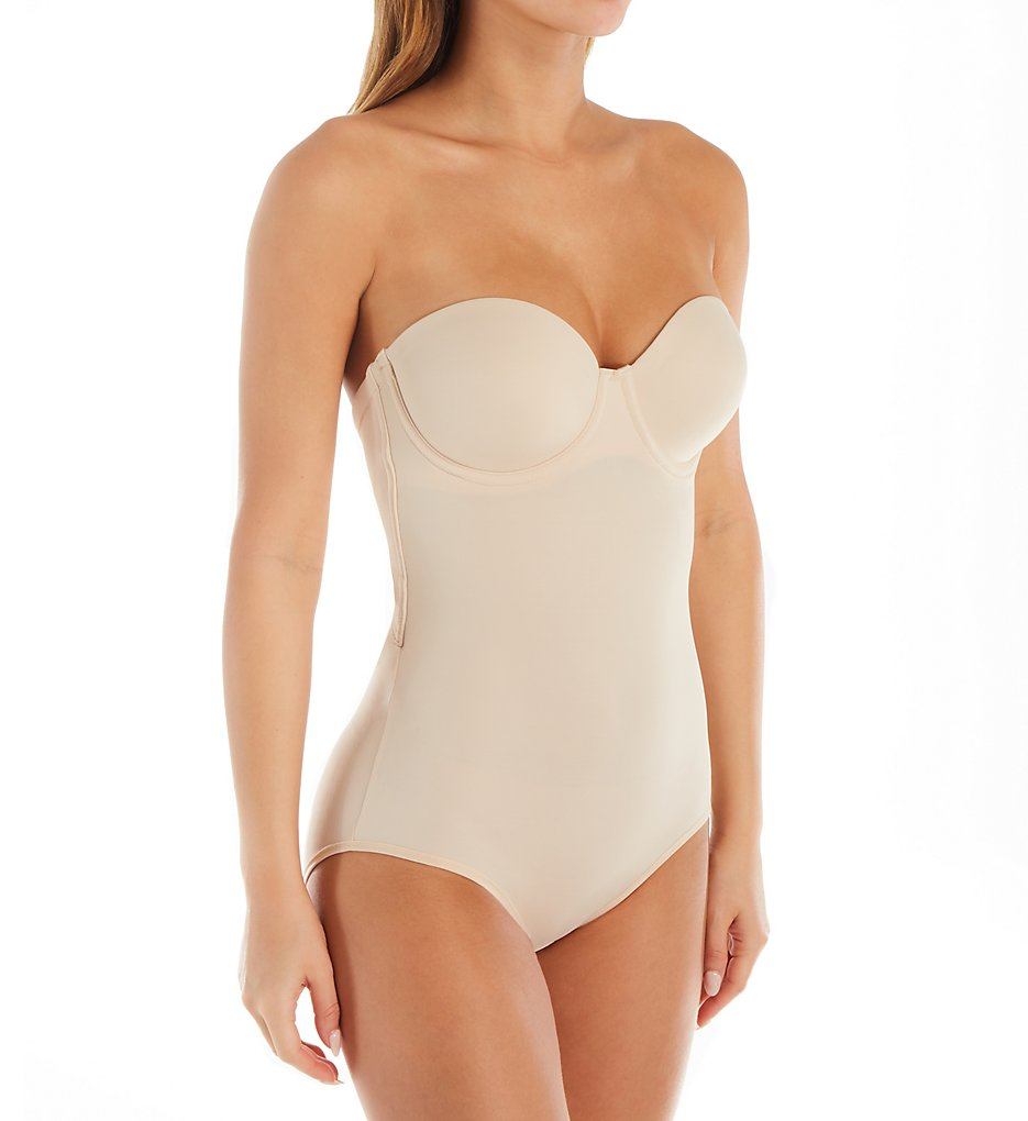 Maidenform - Maidenform DMS108 Firm Foundations Shaping Bodysuit (Nude 1/Transparent 40D)