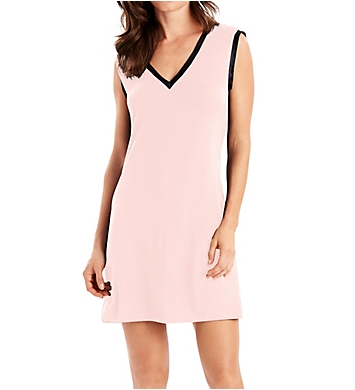 Maidenform Wildly Classic Satin Trim V-Neck Sleepshirt