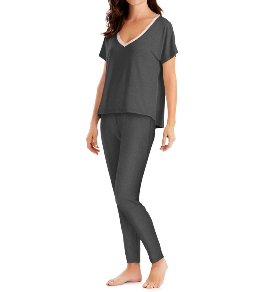 Maidenform Santorini Evening Dolman Top and Legging PJ Set