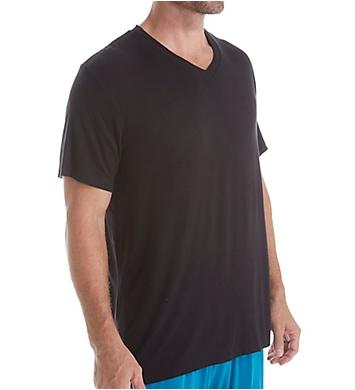Male Power Breathable V Neck T-Shirt