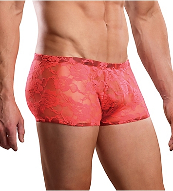Male Power Neon Lace Mini Short