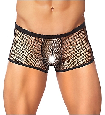 Male Power Stretch Net Peek-A-Buns Trunk