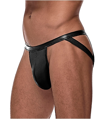 Male Power Cage Matte Strappy Ring Jock