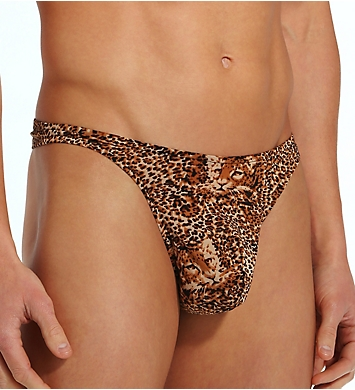Male Power Animal Print Wonder Thong