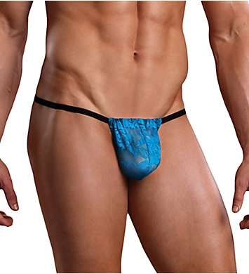 Male Power Neon Lace Posing Strap