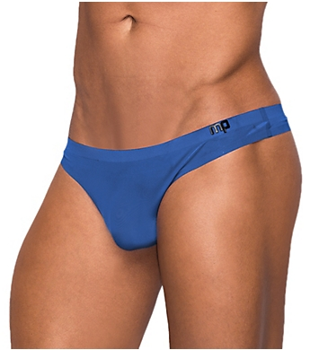 Male Power Seamless Sleek Thong with Sheer Pouch