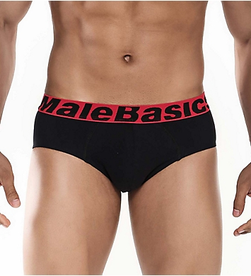 Malebasics Cotton Stretch Briefs - 3 Pack