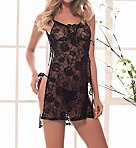 Open Side Babydoll with G-String