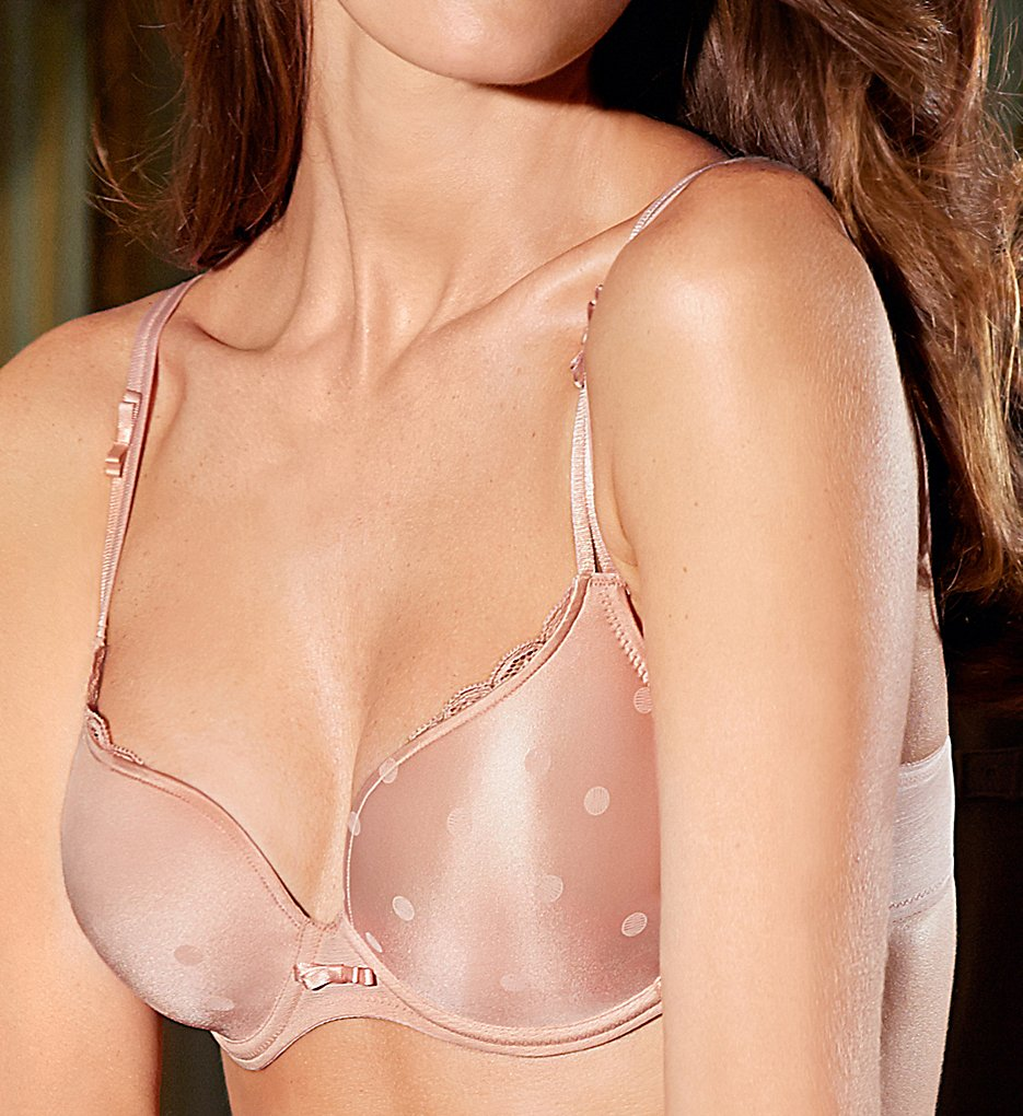 Marie Jo >> Marie Jo 010-1796 Amy Heart Shaped Padded Bra (Powder Rose 38E)