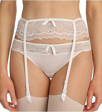 Marie Jo Eva Lace Trimmed Garter Belt