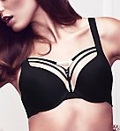 Triangle Padded Push Up Bra
