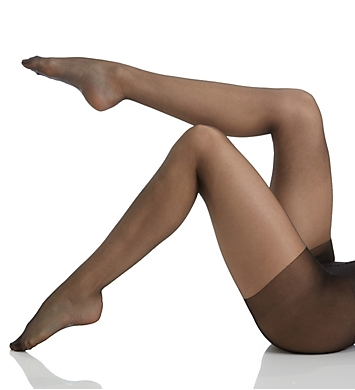 MeMoi Ultra Sheer Bare Control Top Tights