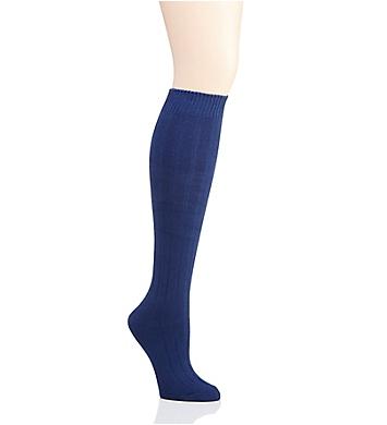MeMoi Ribbed Knit Knee High Socks