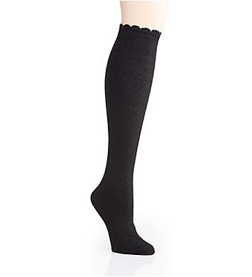 MeMoi Cable Twist Knee High Socks