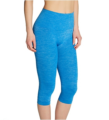 MeMoi SlimMe Seamless High Waisted Capri Legging