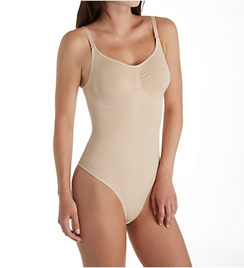 MeMoi SlimMe Bodysuit with Thong