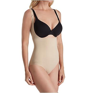 MeMoi SlimMe Seamless Wear Your Own Bra Shaping Bodysuit
