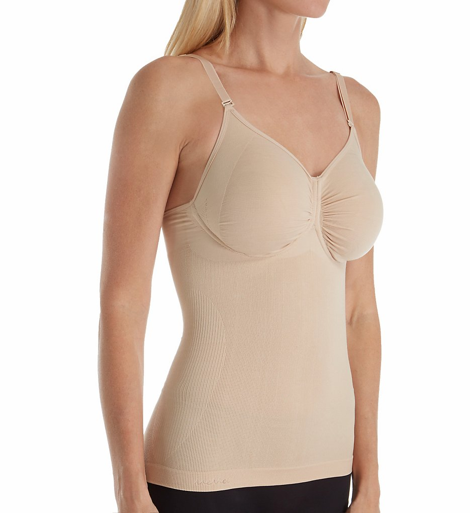 MeMoi - MeMoi MSM-150 SlimMe Shaping Underwire Camisole (Nude S)