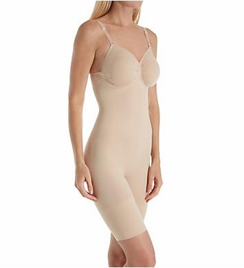 MeMoi SlimMe Underwire Thigh Shaper Bodysuit