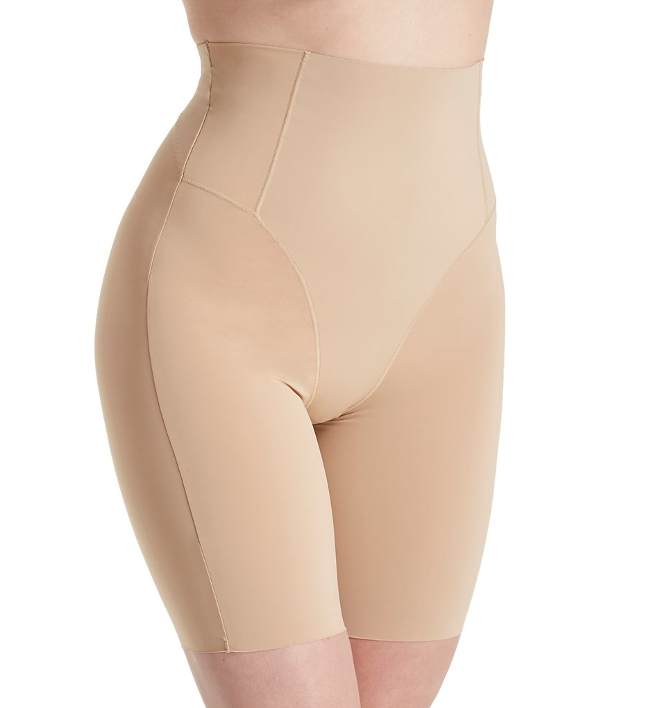 MeMoi - MeMoi SMX-108 SlimX Ultra-Sonic High Waisted Shaping Shorts (Nude L)