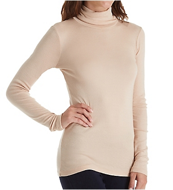 Michael Stars Shine Long Sleeve Turtleneck Top