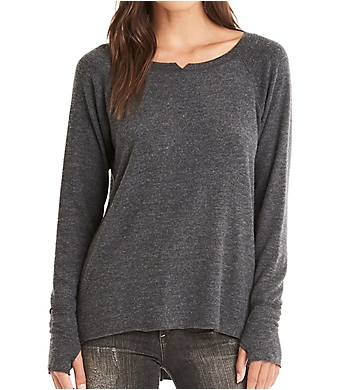 Michael Stars Madison Brushed Jersey Hi-Low Relaxed Tee