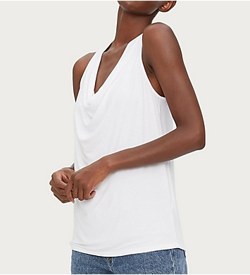 Michael Stars Luxe Jersey Eve Cowl Neck Top