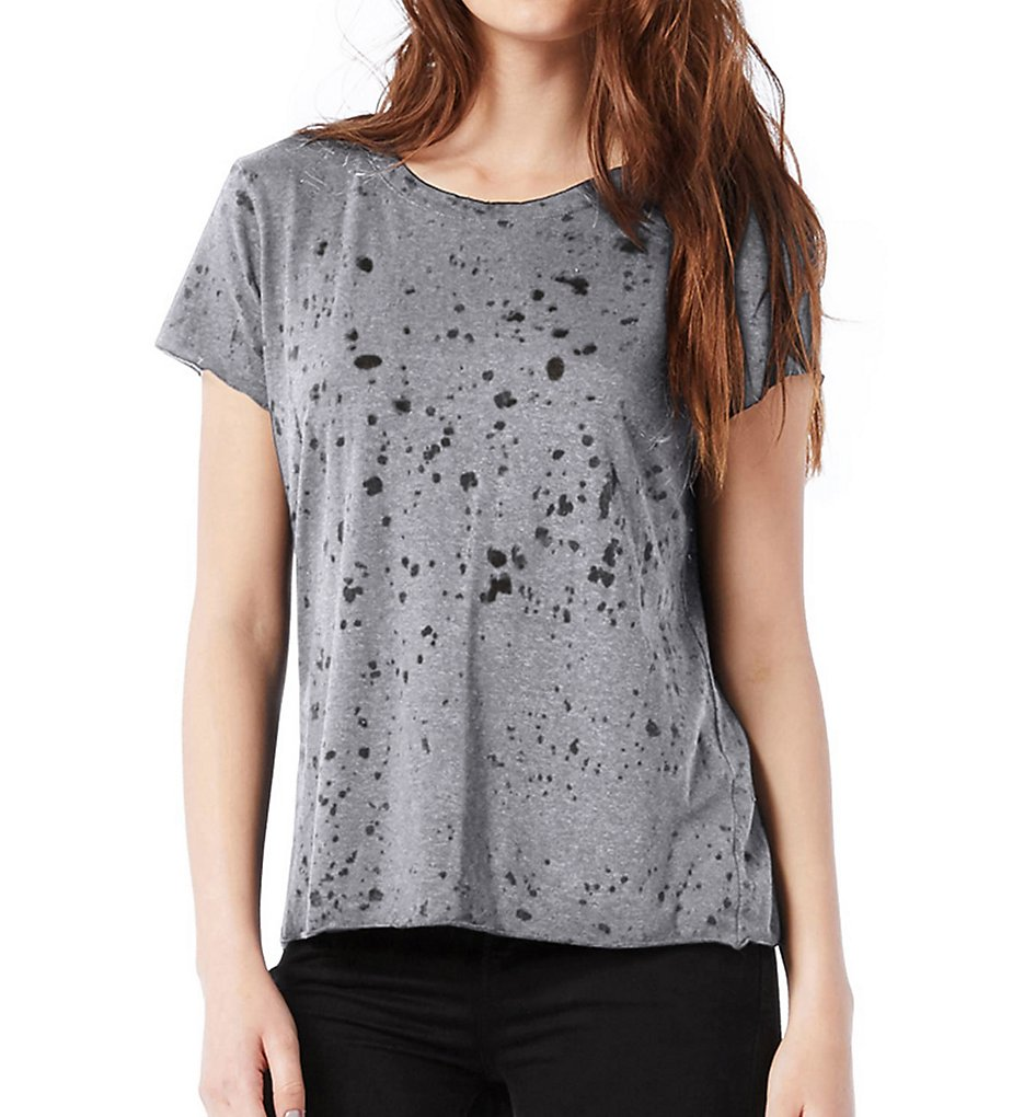 Michael-Stars-5865-Splatter-Burnout-Short-Sleeve-Tee thumbnail 2