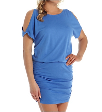 Michael Stars Elbow Open Sleeve Tee Dress