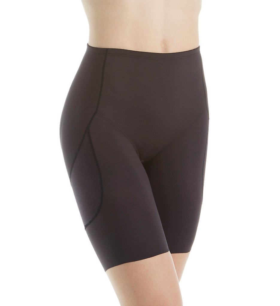 Miraclesuit - Miraclesuit 2816 Rear Lift & Thigh Control Waistline Thigh Slimmer (Black L)