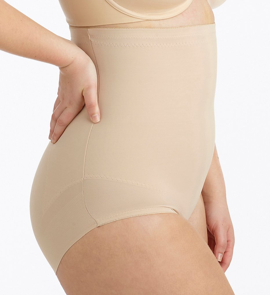 Miraclesuit : Miraclesuit 2935 Plus Flexible Fit Shaping Hi-Waist Brief (Nude 1X)